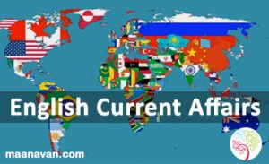 English Current Affairs