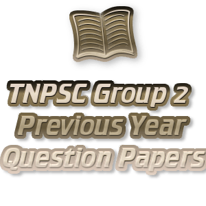 Tnpsc last year question paper with answer