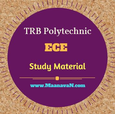 Photo of TRB Polytechnic ECE Study Material