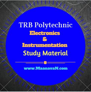 Photo of TRB Polytechnic Electronics & Instrumentation Study Material