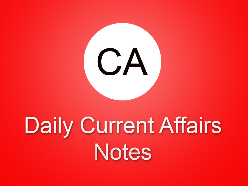 Photo of TNPSC Group 2A Current Affairs Notes PDF Download