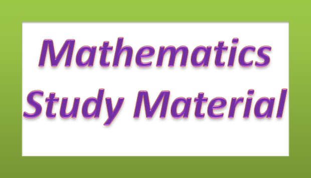 TNPSC VAO Exam Maths Study Material In Tamil PDF Download