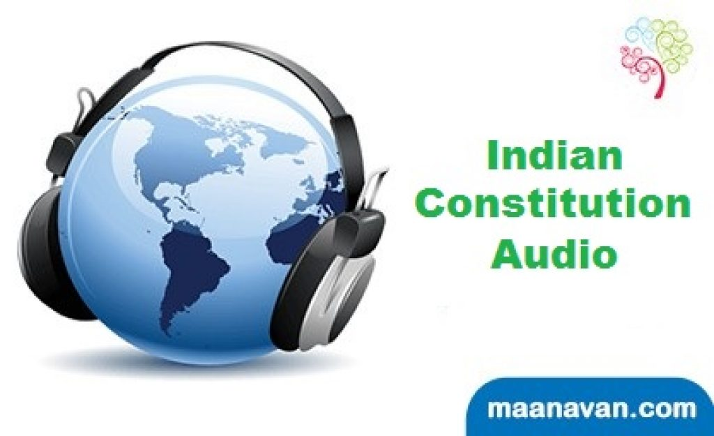 The Indian Constitution Is The Official Language Of India | Audio Materials