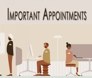 List Of Important Appointments