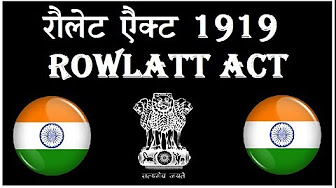 Photo of Rowlatt Act – 1919