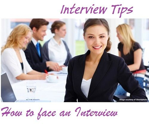 how to face an interview for the first time