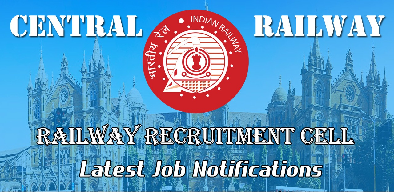 RRB Central Railway Exam Notification