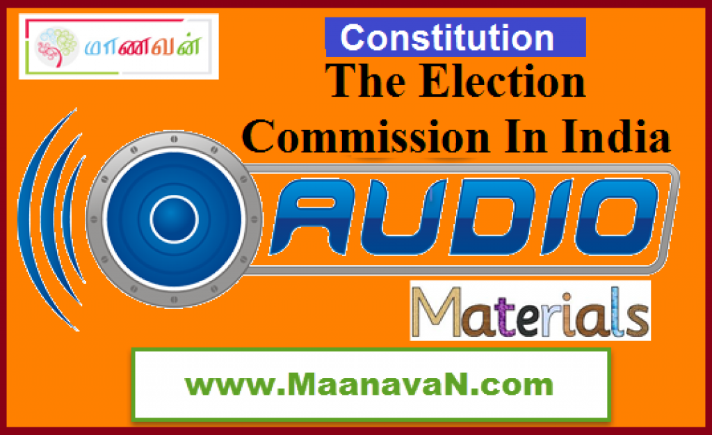 The Election Commission In India
