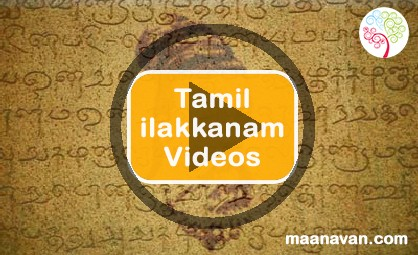 TNPSC CCSE 4 Exam Tamil Ilakkanam Videos Part 1