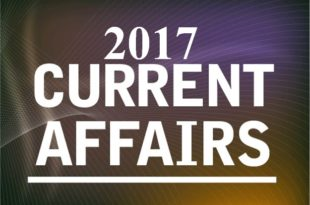 Current Affairs January to November 2017