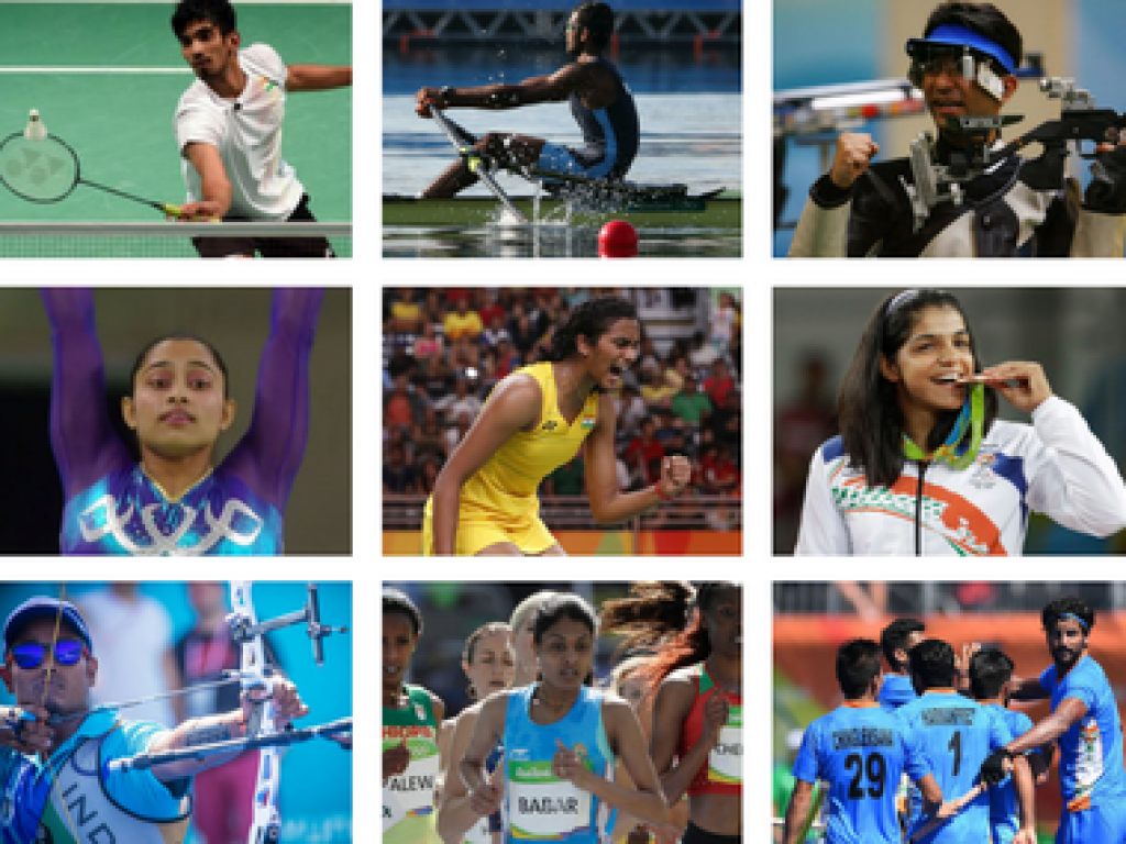 Indian Sports Personalities And Their Achievements 2017