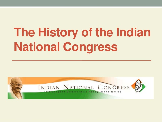 Indian National Congress History