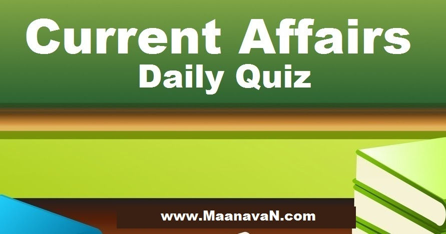 Tamil Current Affairs Online Test Questions 08 to 14 Jan 2017