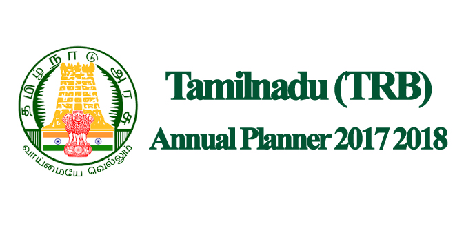 TN TRB Exam Annual Planner