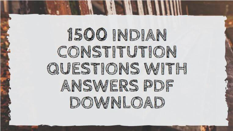 TNPSC CCSE 4 Exam 2000 Questions and Answer