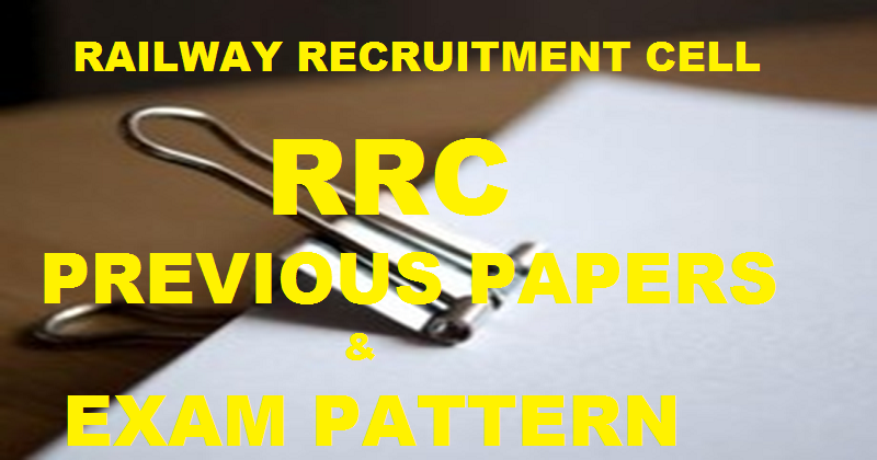 RRC Railway Group D Exam Previous Question Paper