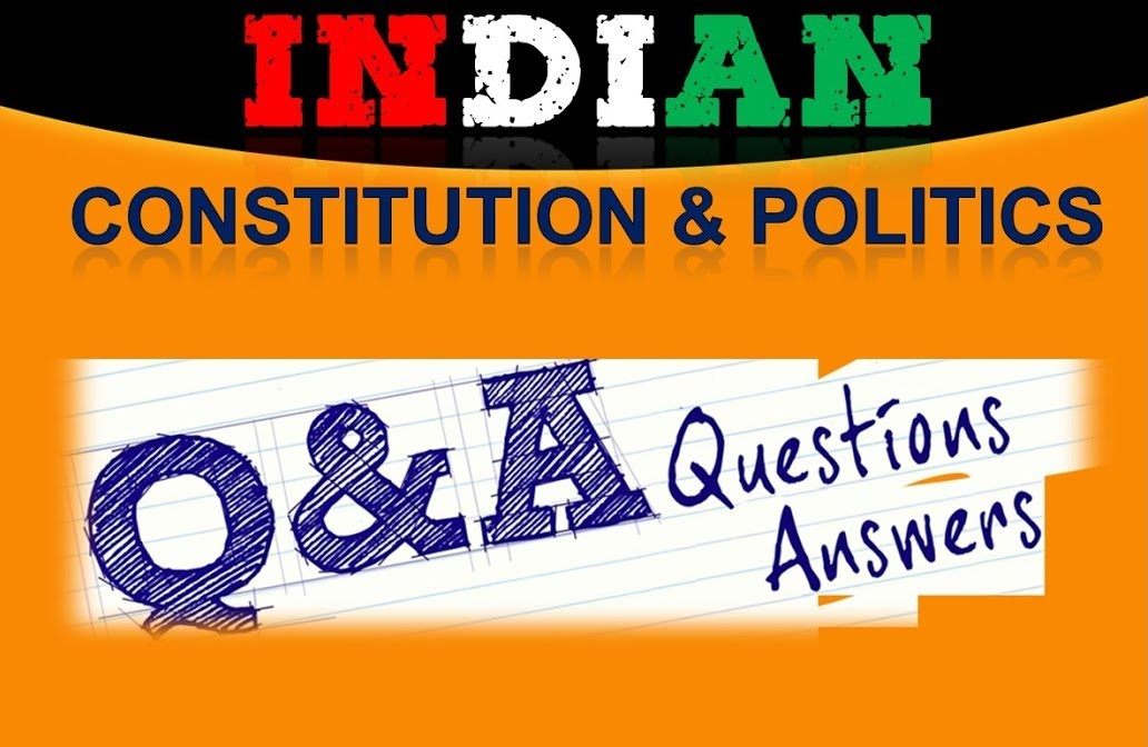 CCSE 4 Exam Indian Constitution Questions and Answer