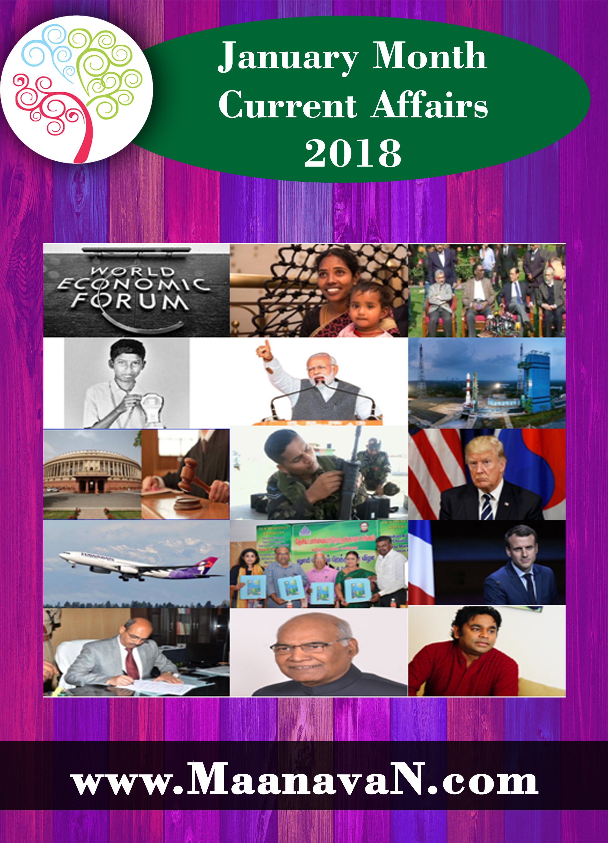 January Month Current Affairs PDF Download