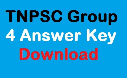 TNPSC CCSE 4 Exam Current Affairs Answer Key
