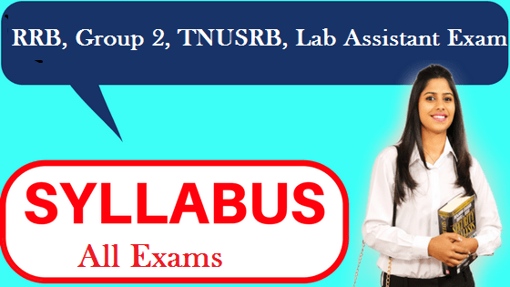All Exam Syllabus