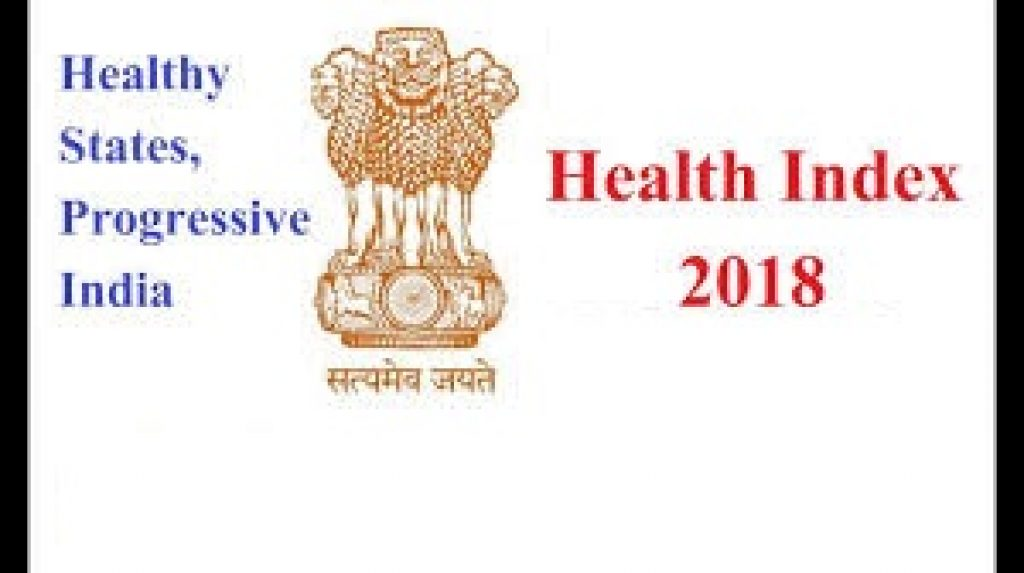 Highlights Of Health Index Of India