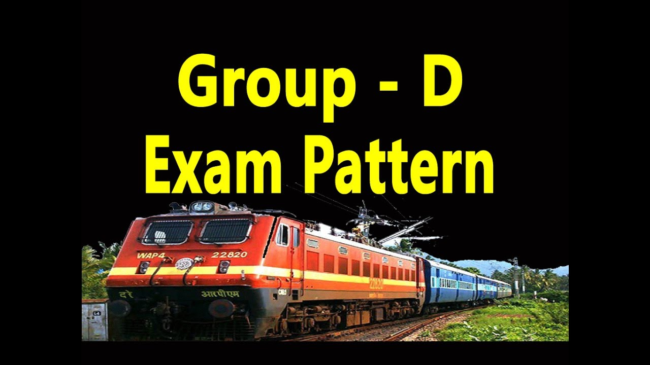 RRC Railway Group D Exam Pattern