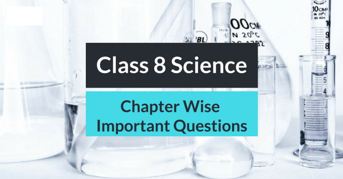 8th Science Important Questions