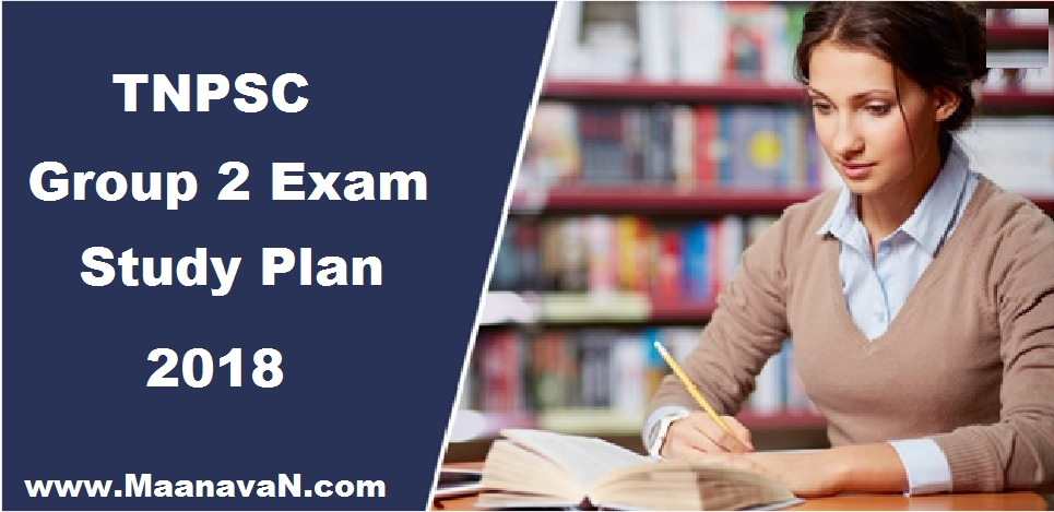 Group 2 Exam Study Plan