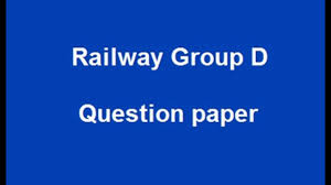RRB Group D Tamil Question Paper