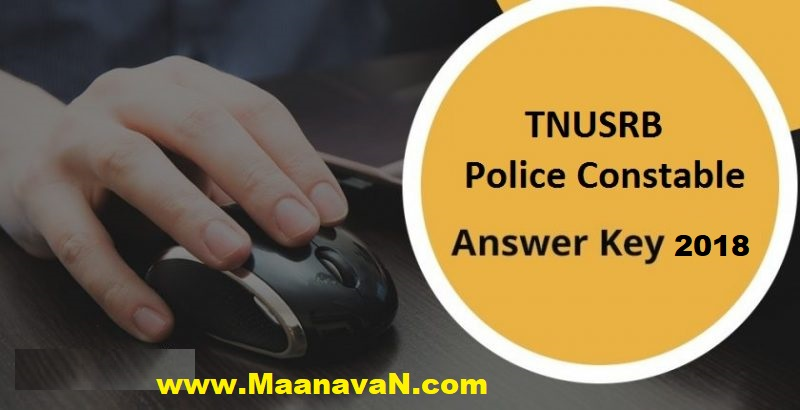 TNUSRB Police Exam Answer Key