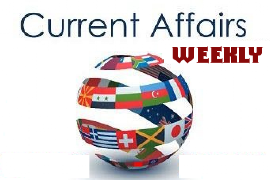 TNPSC Weekly Current Affairs May 2018