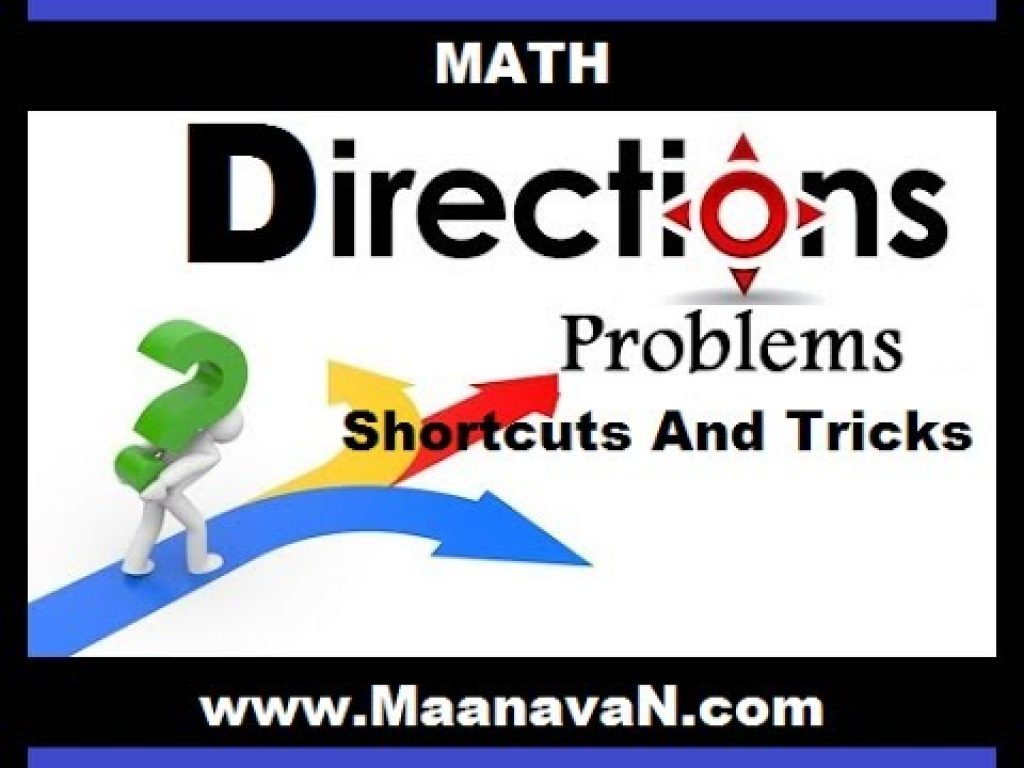Direction Problems Shortcuts And Tricks | TNPSC RRB Exam