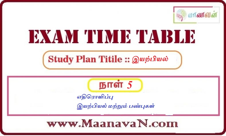 Photo of TNPSC Group 2A And RRB Exam Study Plan Day 5