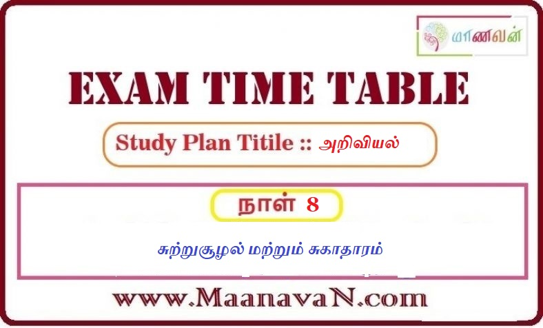 Photo of TNPSC Group 2A And RRB Exam Study Plan Day 8